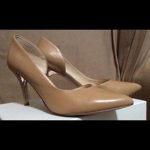 Classic nude d'orsay pumps
